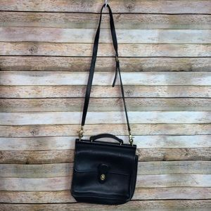 Coach Black Purse Vintage Satchel